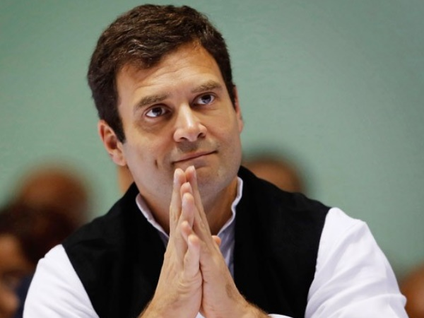 Rahul Gandhi greets nation on Diwali