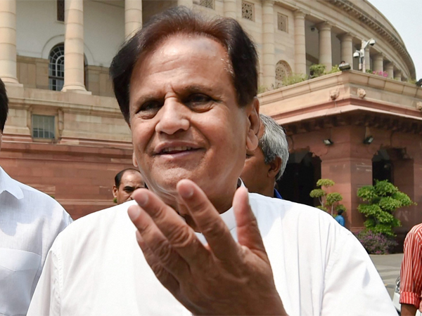 File photo of Ahmed Patel