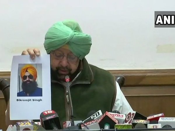 Chief Minister Amarinder Singh. Courtesy: ANI