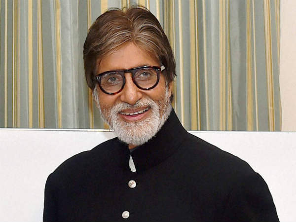 Actor Amitabh Bachchan