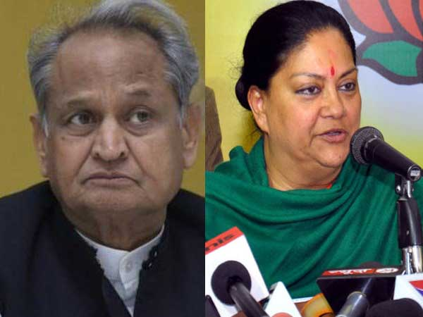Gehlot accuses Vasundhra Raje of deliberately neglecting certain regions of Rajasthan