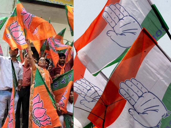 BJP to retain MP, Chhattisgarh, Cong will take Rajasthan: Survey
