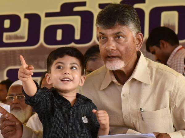 Chandrababu Naidu's grandson richer than him with Rs 18.71 crore assets