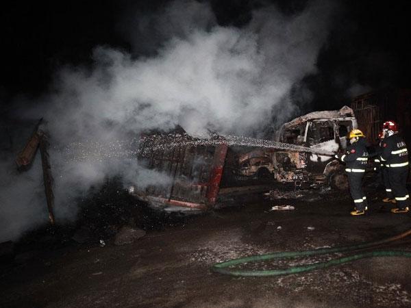 China: 22 killed in blast near Chemical plant