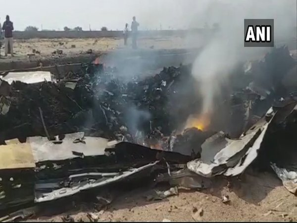 IAFs trainee aircraft crashes in Telangana, pilot injured
