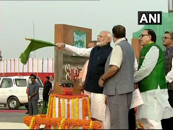 PM Modi inaugurates first multi-modal terminal on Ganga river in Varanasi