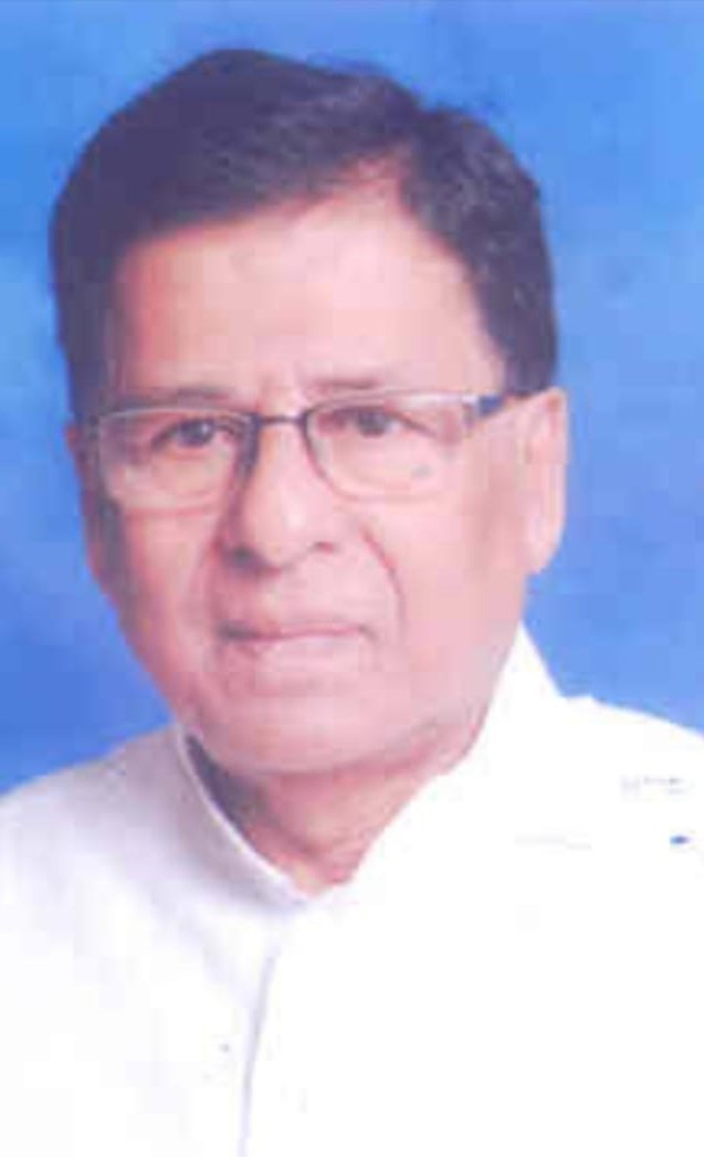 Former Rajya Sabha MP Baishnab Charan Parida passes away at 77