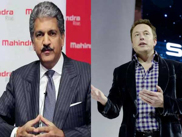 Elon Musk and Anand Mahindra discuss over who should go to Mars?