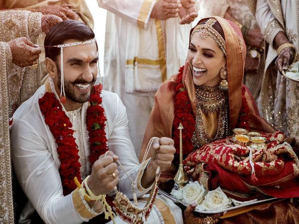 Here's the photo from Deepika Padukone, Ranveer Singh Sindhi wedding ceremony