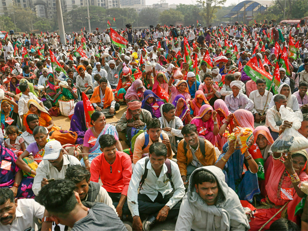 Mega farmer rally today as thousands descend upon national capital
