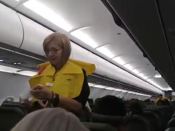 Hear the world's 'funniest flight attendant' speak