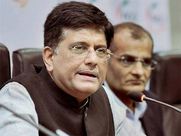 Union Railway Minister Piyush Goyal