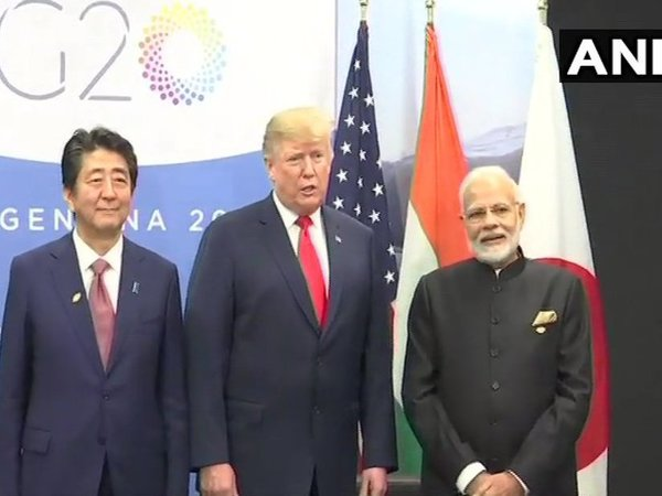 [Abe, Trump and Modi meet for trilateral 'JAI' meet in Buenos Aires]