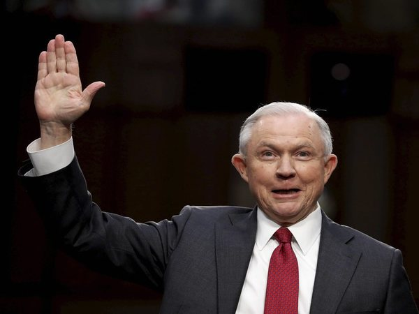 US Attorney General Jeff Sessions. PTI file photo