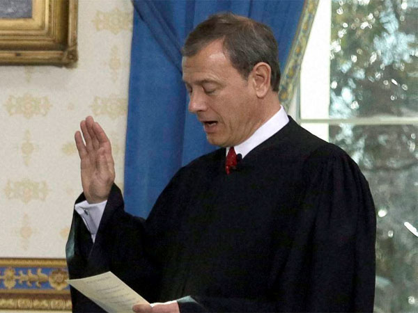 Chief Justice of the US, John Roberts