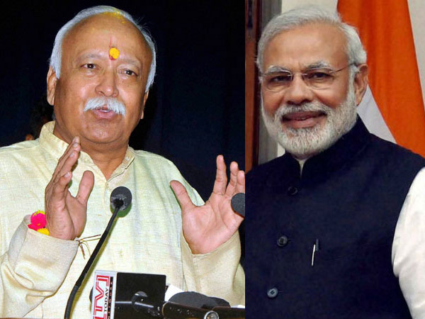 Modi and Bhagwat in Varanasi; possible meeting on Nov 12 gives sleepless night to Opposition