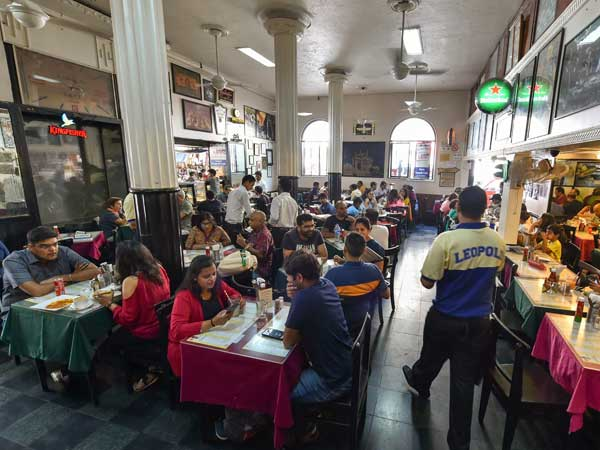 Mumbai's famous Leopold Cafe was among the first targets
