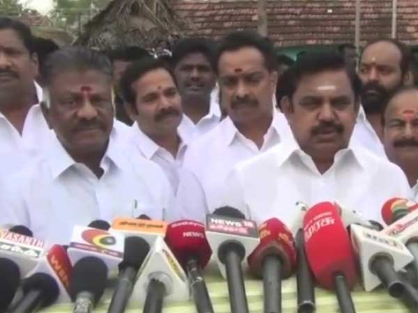 Cyclone Gaja: Will seek financial aid from Union Govt, says TN CM after distributing relief materia