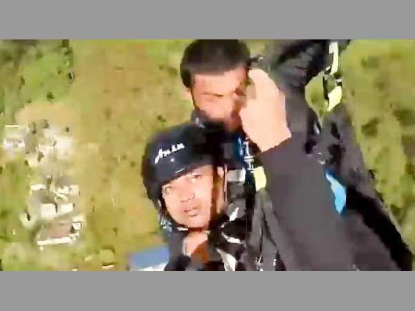 WB: Watch video of paraglider pilot final moments in Kalimpong before death