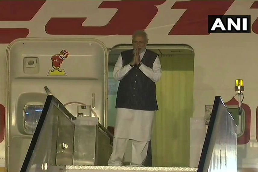 Narendra Modi leaves for Singapore to attend East India summit