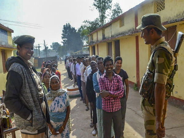 Chhattisgarh assembly election 2018: 70 per cent voter turnout in first phase