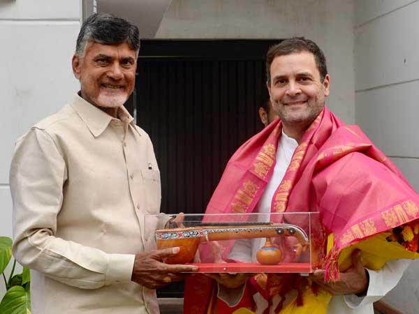 Upset over TDP-Congress tie-up, NTR's wife wants husband's 'rebirth'