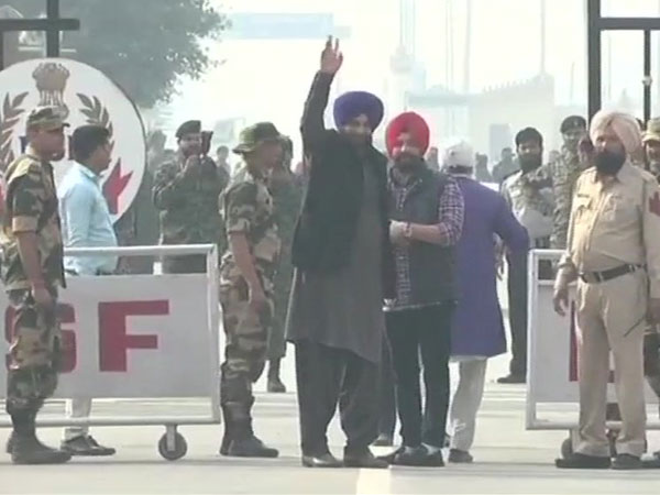 Sidhu reaches Pakistan, says Kartarpur Corridor will erase enmity