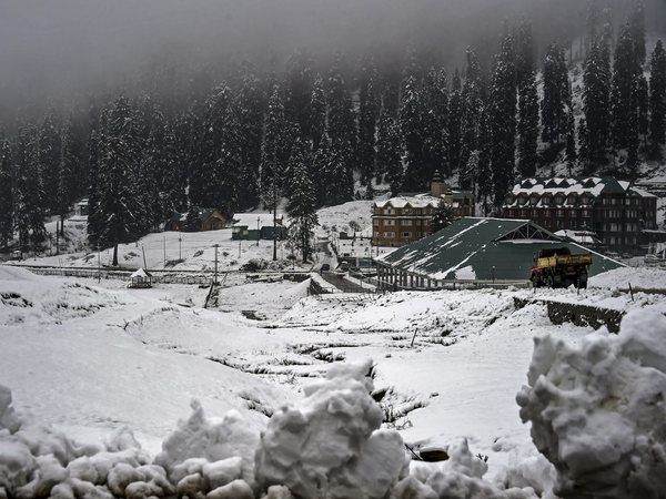 A view after fresh snowfall at the famous ski resort of Gulmarg in Baramulla District of North Kashmir, Friday, Nov 02, 2018. PTI file photo