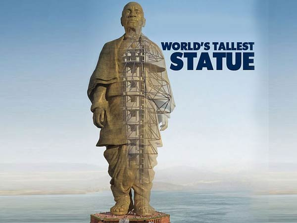 About Statue of Unity: 597 feet