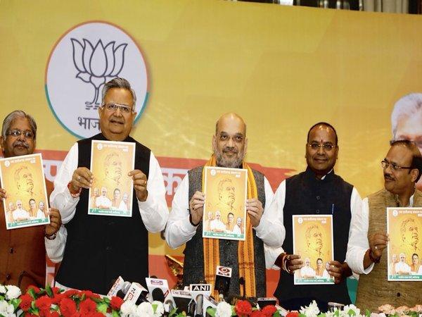 Chhattisgarh Assembly Polls: Amit Shah releases BJP's manifesto