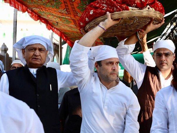 Rajasthan Elections: Rahul Gandhi visits Ajmer dargah, offers prayers