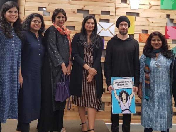 Twitter CEO slammed for holding Smash Brahminical Patriarchy poster