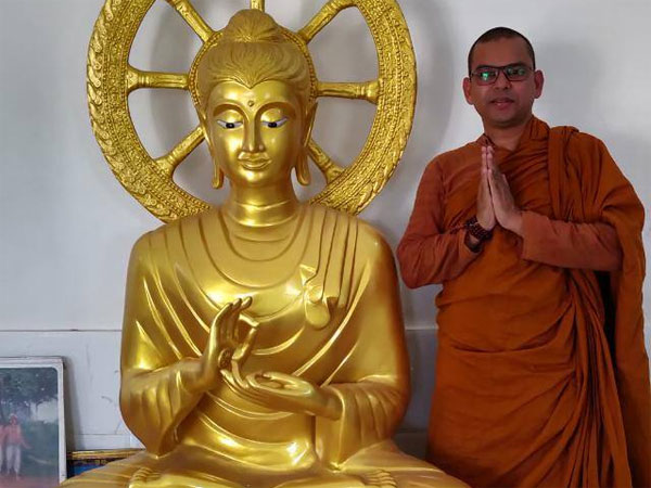 Peace creates Unity, monks reason for Buddha statue in Gujarat