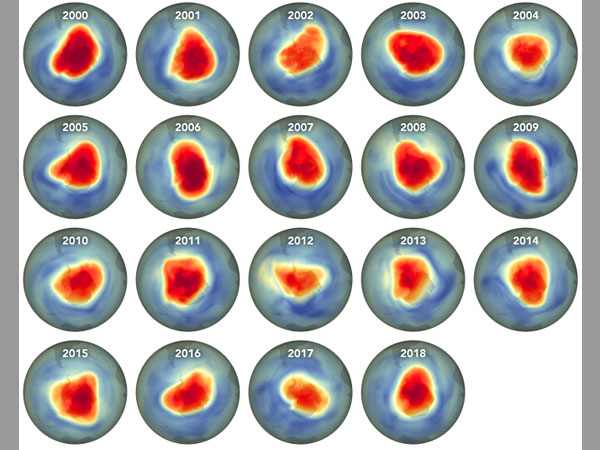 [Ozone hole is big, but smaller than expected: NASA report]