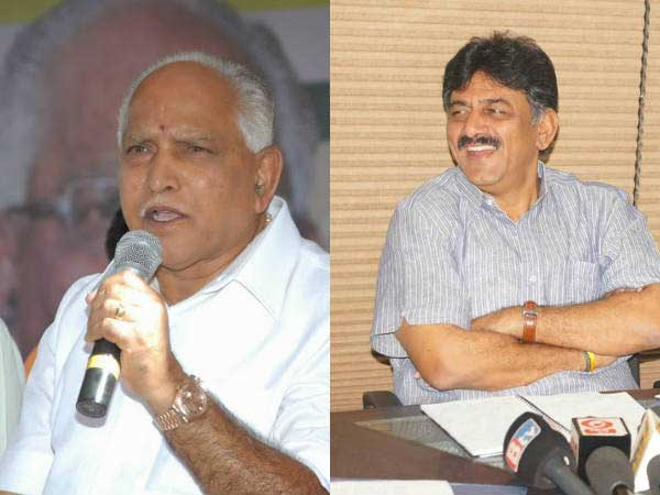 Karnataka BJP chief Yeddyurappa meets Shivakumar, sparks alliance speculation
