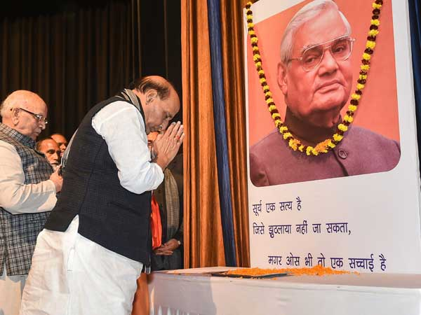 BJP and BJP-ruled states celebrating former PM Vajpayee's birthday as Good Governance Day