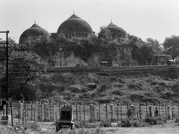 File photo dated October 1990, shows Babri Masjid in Ayodhya