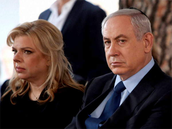 Israeli Prime Minister Benjamin Netanyahu and his wife Sara