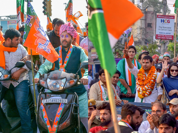 Five Satta Bazars give a thumbs up to the BJP for Rajasthan Assembly
