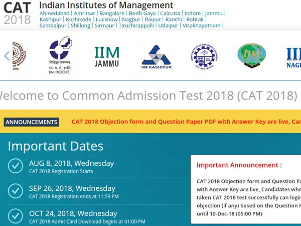 CAT 2018 Result: When will the results be out? Find out date, time here