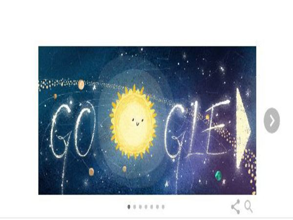 Google dedicates Doodle to Geminids meteor shower which would peak today