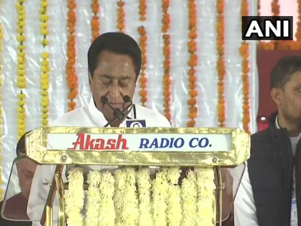 Swearing-in ceremony: Kamal Nath takes oath as Madhya Pradesh CM