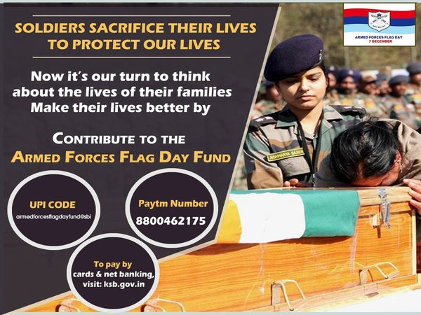Armed forces Flag Day Fund:
