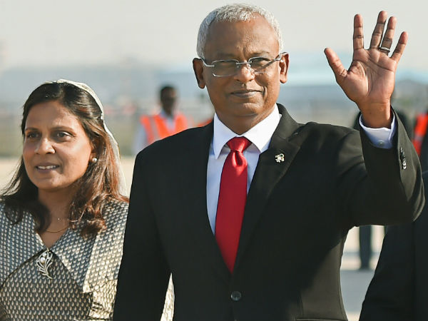 Maldives President Ibrahim Mohamed Solih arrives in India; to meet Modi today
