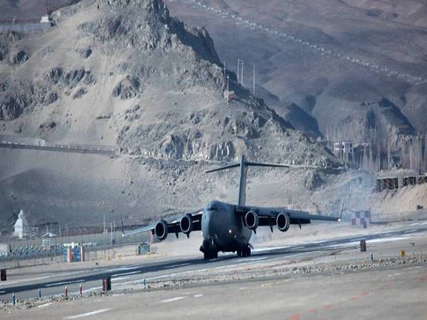 Record: IAF airlifts 463 tonnes of load in 6 hours to airfields,drop zones in Ladakh