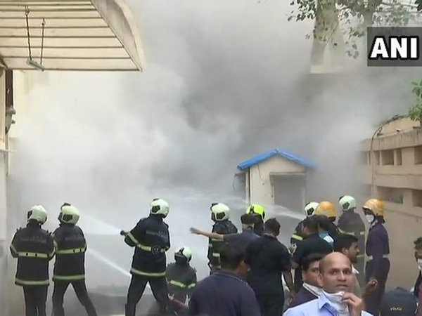 12 firefighters injured while dousing fire in Mumbai's Sadhana House