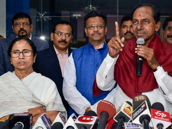 Congress accuses KCR of helping the BJP by lobbying for the Federal Front for LS elections