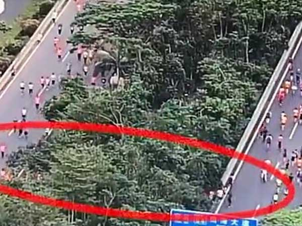 China: Hundreds of marathon runners found taking shortcuts in race; slammed for dishonesty