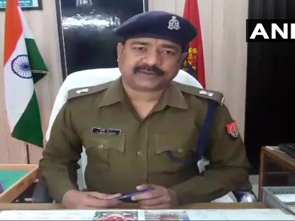 Meerut SP Rajesh Kumar. Courtesy: ANI news