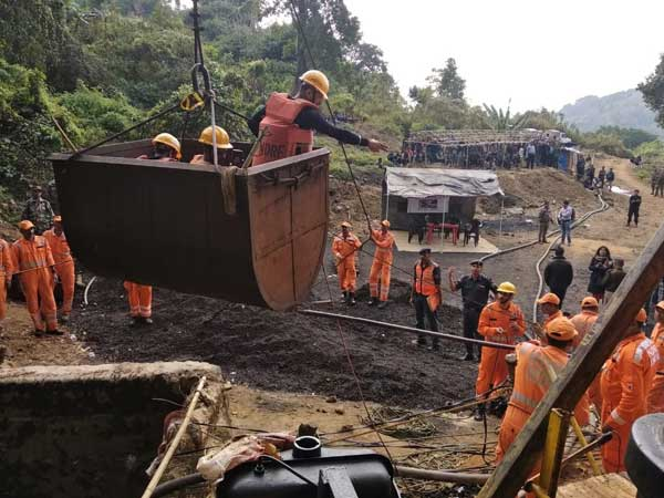 Operation to rescue 13 miners underway in Meghalaya